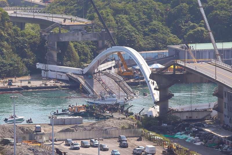 港務公司坦言8橋梁「從未檢修」 林佳龍:有危險性一定先封橋-風傳媒