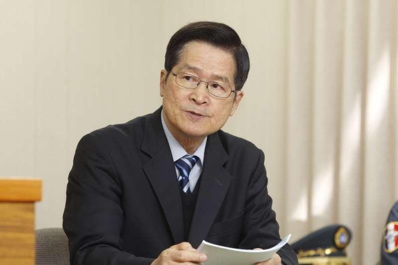 國防部長嚴德發(見圖)表示,漢光演習將做安全上的調整。(資料照,郭晉瑋攝)
