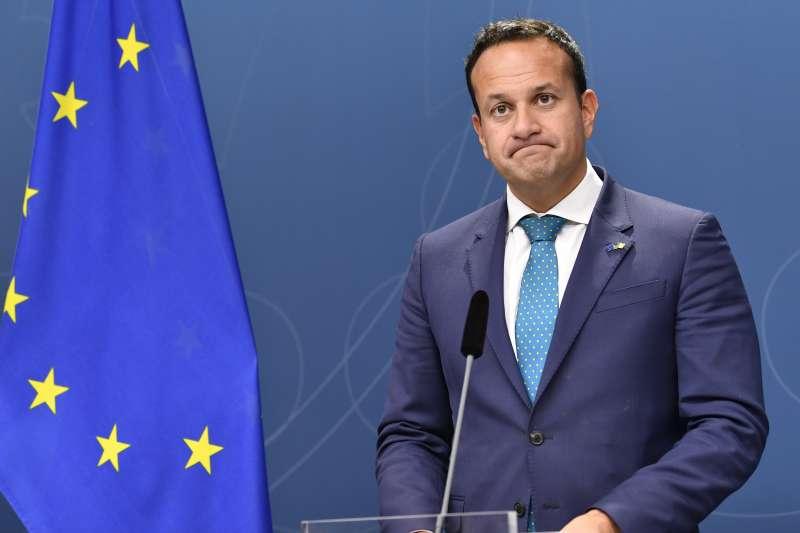 英國脫歐陷入泥淖,愛爾蘭總理瓦拉德卡(Leo Varadkar)扮演關鍵角色(AP)