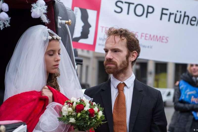 兩年前德國出台反兒童婚姻法,防止未成年人被迫早婚。但女權團體的最新研究指出,該法的成效不彰。(圖/德國之聲提供)