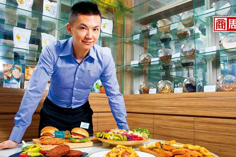 松珍素食執行長:陳俊毓(商業周刊提供)