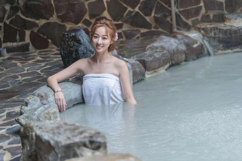 關子嶺泥漿溫泉是南台灣知名景點,民眾可搭配秋冬補助方案參加。(圖/台南市政府觀光旅遊局提供)