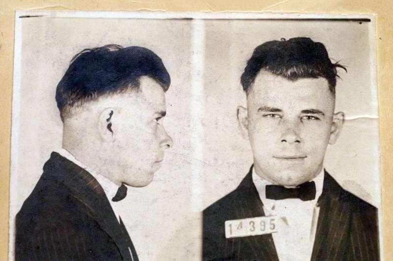 美國20世紀初年的「頭號全民公敵」──銀行大盜迪林傑(John Dillinger)(AP)