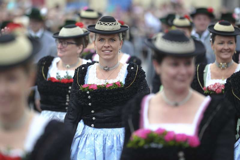 2019年德國慕尼黑啤酒節(Oktoberfest)(AP)
