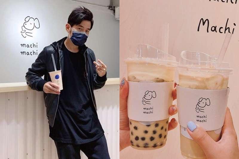 周董新歌中出現的奶茶店在中國爆紅啦!(圖/取自 jaychou@Instagram、麥吉臉書)