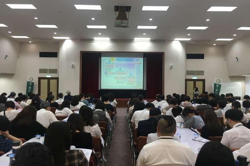第一銀行10月1日於總行大樓舉辦首場境外資金匯回專法系列講座。(圖/第一銀行提供)