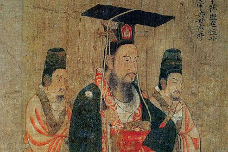隋文帝楊堅(圖/維基百科)