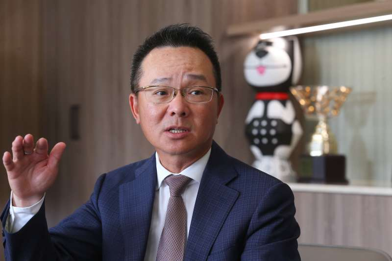 20191008-中華民國高爾夫協會理事長王政松專訪。(顏麟宇攝)
