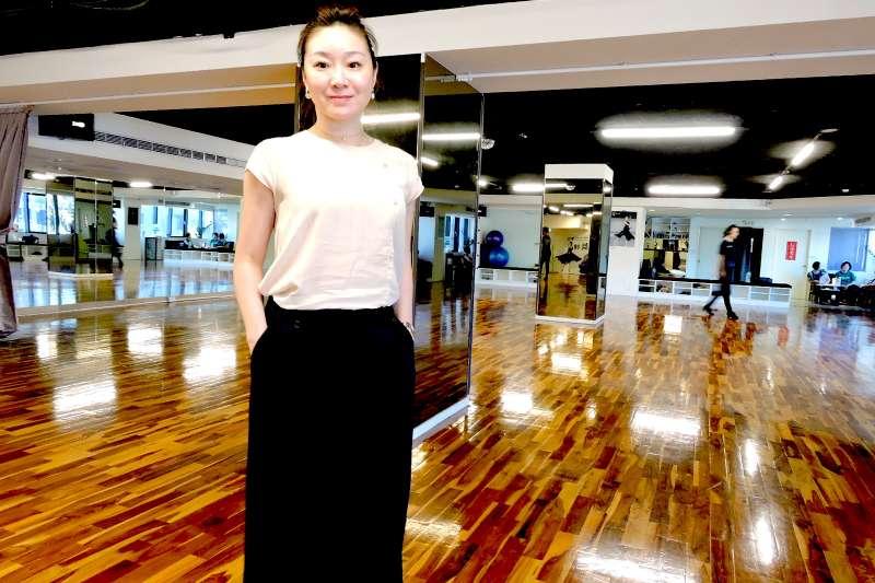 菲舞Flying Dance創辦人季雯華曾是台灣國標舞冠軍,推廣國標不遺餘力(圖/菲舞Flying Dance 提供)