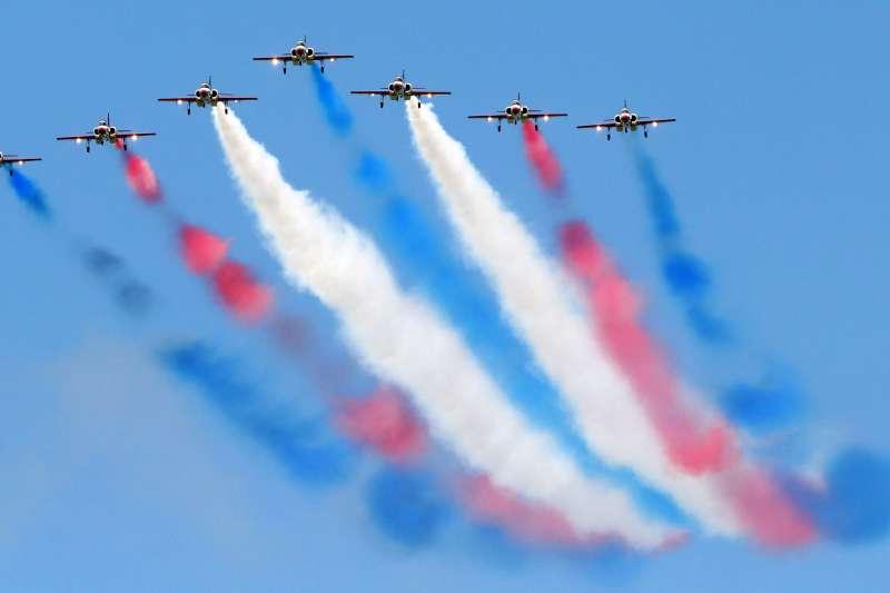 空軍台南基地將於19日開放,屆時將有雷虎小組特技飛行、三型主力單機性能展示等動態操演。(蘇仲泓攝)