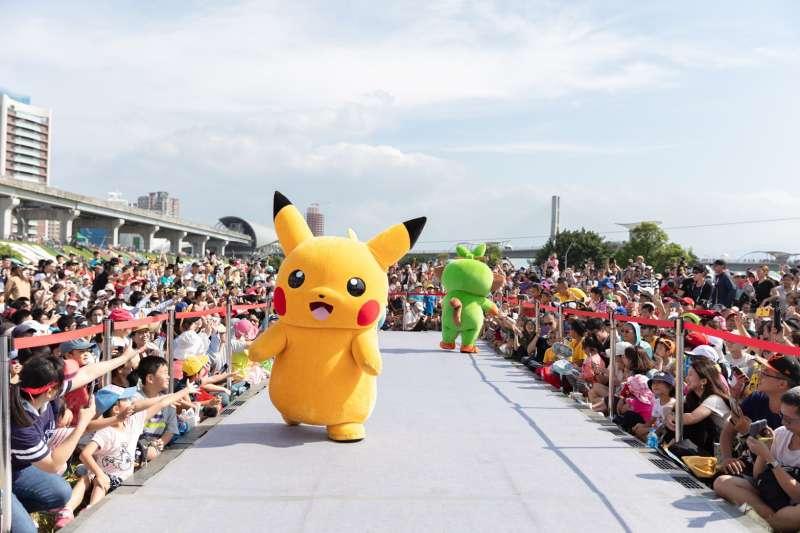 新北觀光旅遊局、Niantic及The Pokémon Company舉辦的《Pokémon GO Safari Zone in New Taipei City》活動帶動國內外的訓練家來到新北,締造20億觀光效益。(圖/新北市觀光旅遊局提供)