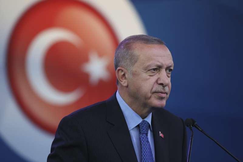 土耳其總統艾爾多安(Recep Tayyip Erdoğan)(AP)