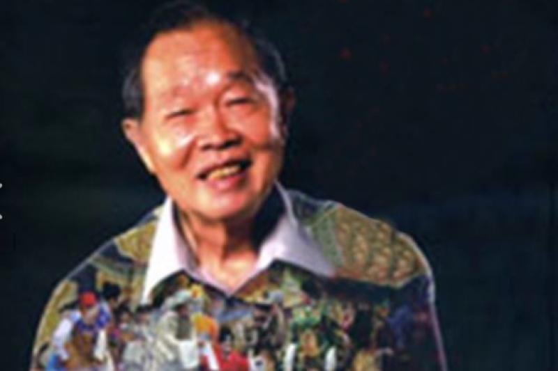 告別一生牽念的戲曲舞台,河洛歌子戲團創團老團長劉鐘元7日人生謝幕,享壽86歲。(圖/河洛歌子戲團@facebook)