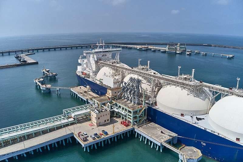 台灣中油無償提供冷排水予永安當地養殖戶。(圖/台灣中油公司提供)
