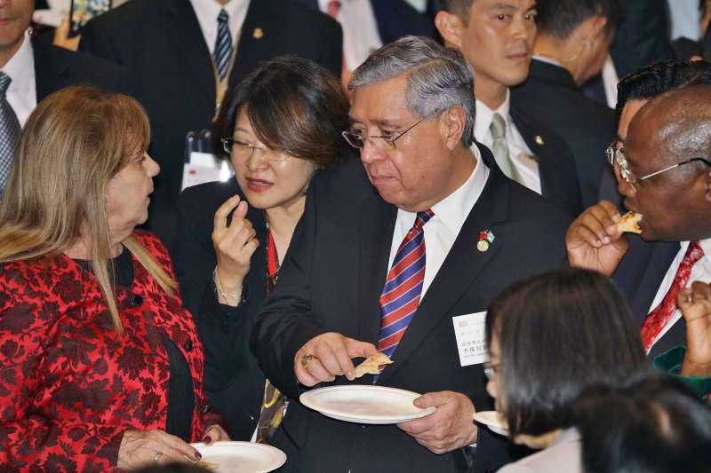 20191010-國慶酒會,瓜地馬拉副總統卡培拉(Jafeth Ernesto Cabrera Franco)出席。(盧逸峰攝)