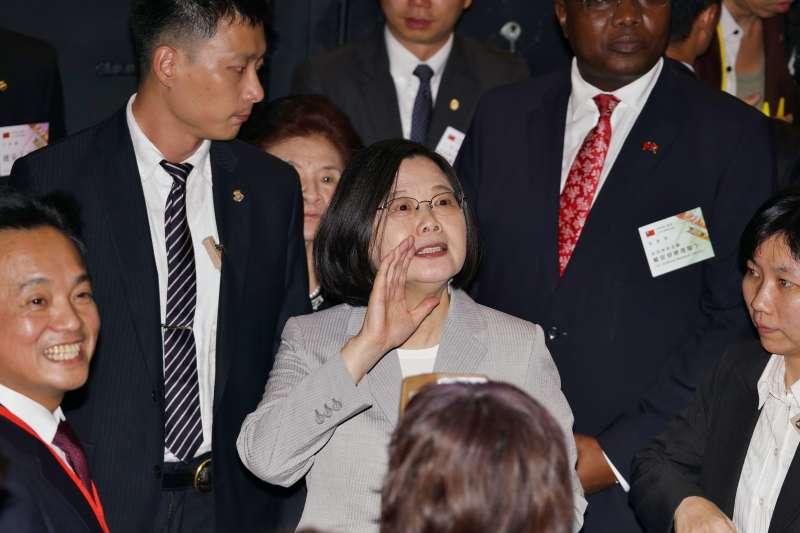 20191010-國慶酒會,總統蔡英文出席。(盧逸峰攝)