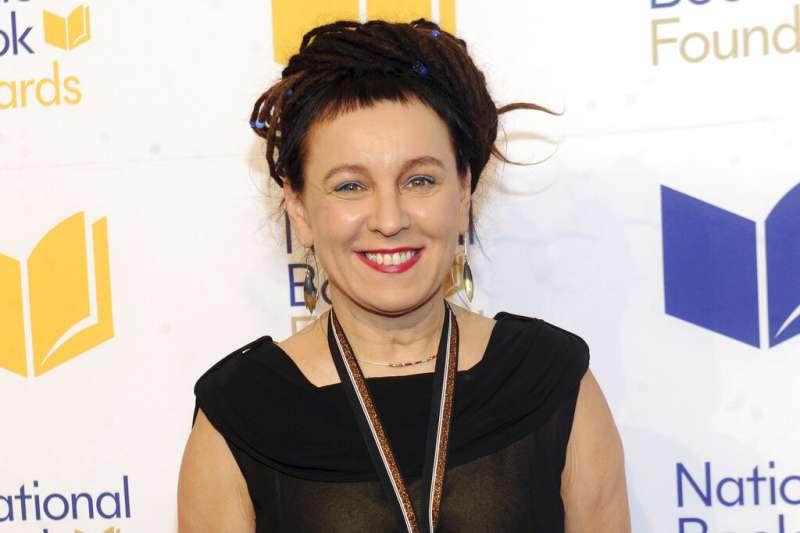 2018年諾貝爾文學獎得主、波蘭作家朵卡萩(Olga Tokarczuk)。(AP)