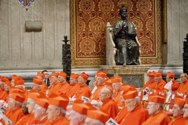 教宗的顧問-樞機主教(曾廣儀攝)