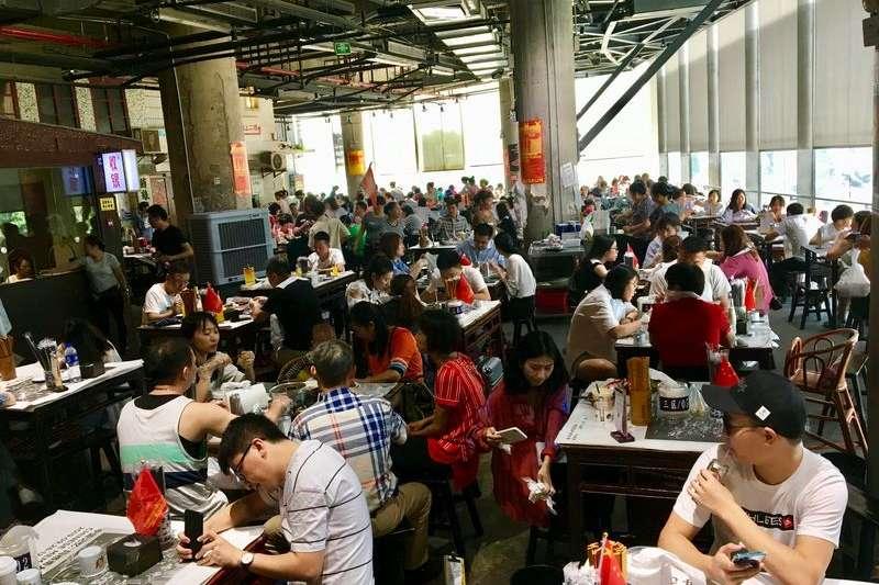 生意火爆的長沙文和友餐廳(新華社)
