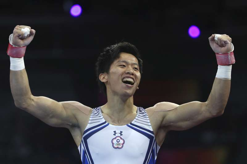 「鞍馬王子」李智凱奪世錦賽銀牌,連兩屆獎牌入袋史上第一人。(美聯社)