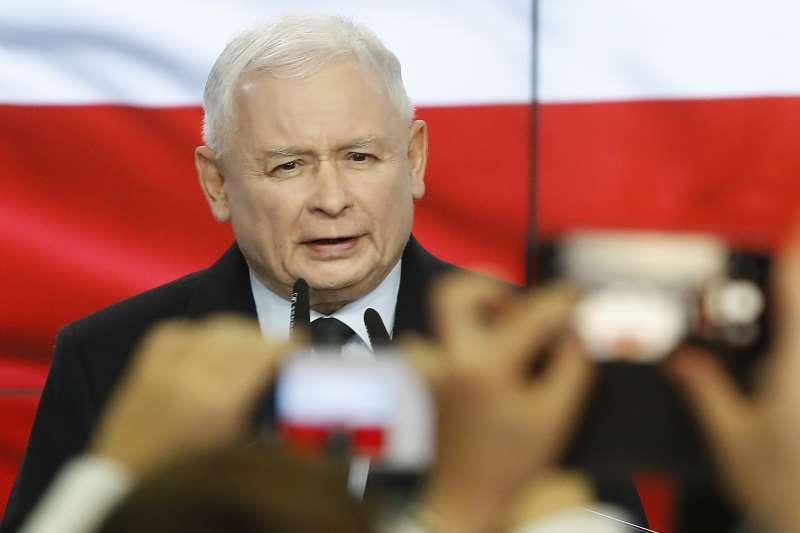 波蘭執政黨「法律與公正黨」現任黨魁卡欽斯基(美聯社)