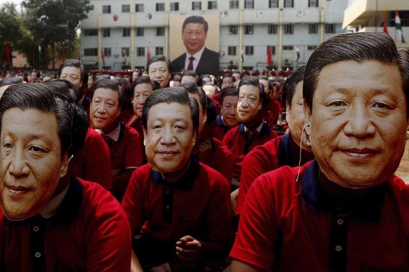 中國國家習近平出訪印度。(AP)