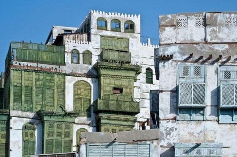 吉達老城區。(BBC中文網)