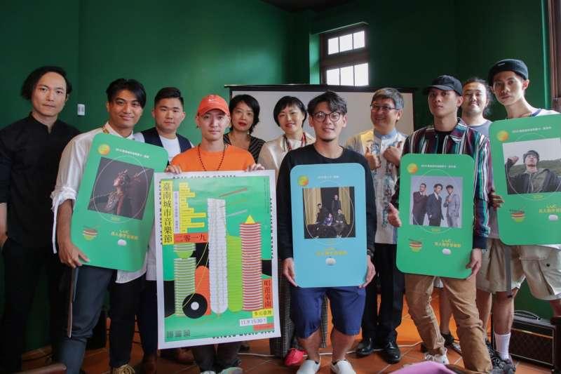 「2019臺南城市音樂節暨貴人散步」有超過10場次Showcase、逾65組國內外樂團演出。(圖/台南市觀光旅遊局提供)