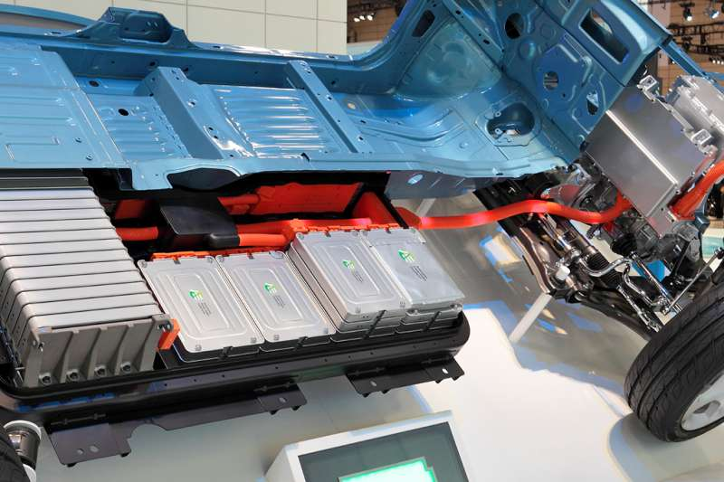 電動車使用的的鋰離子電池(Tennen-Gas@Wikipedia )