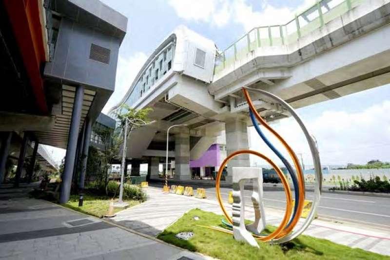 大慶車站與捷運綠線G13站共站連通的設計,將建構起便捷的交通路網。(圖/臺中市政府提供)