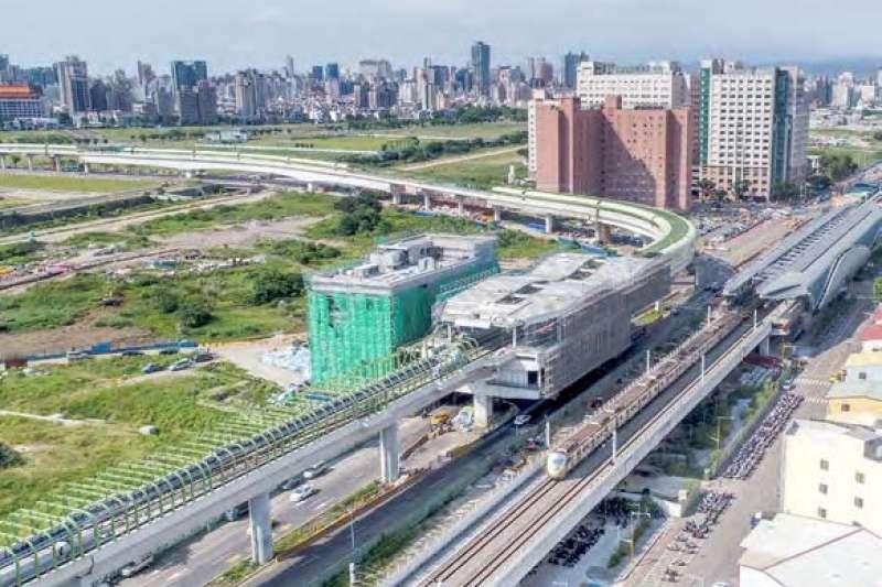 軌道建設活絡臺中市南區的都市發展,更帶動整體經濟發展。(圖/臺中市政府提供)