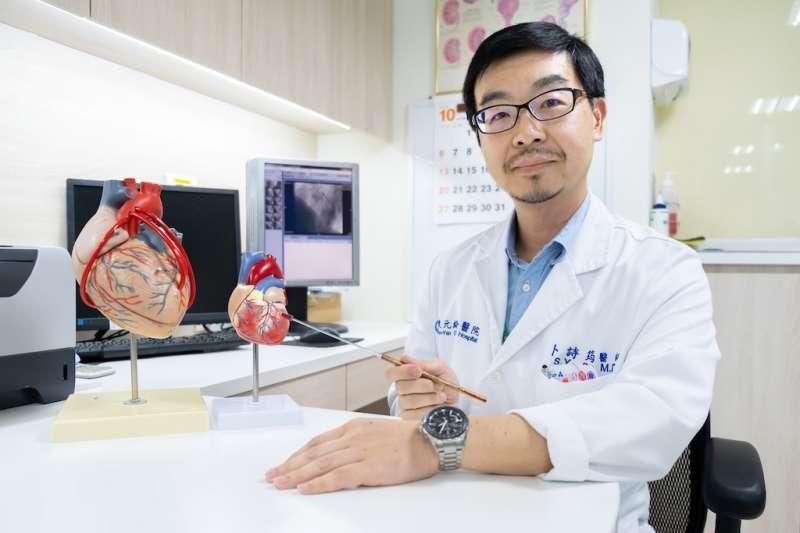 東元醫院醫師卜詩筠提醒,「四高」民眾都是急性心肌梗塞的高危險群。(圖/東元綜合醫院提供)