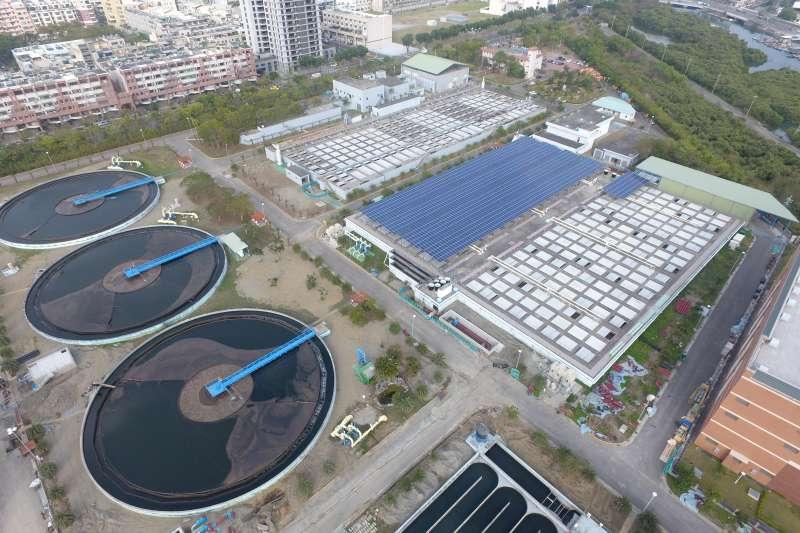 除了倡導節約用水外,放流水回收亦是面對未來水資源缺乏的因應方式。(圖/臺南市政府提供)