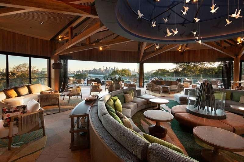 塔龍加野生動物酒店由澳洲著名建築師公司Cox Architecture 精心設計。(圖/DECO TV)
