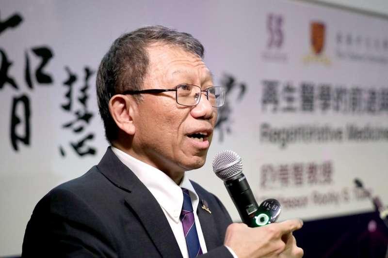 香港中文大學校長段崇智(香港中文大學)
