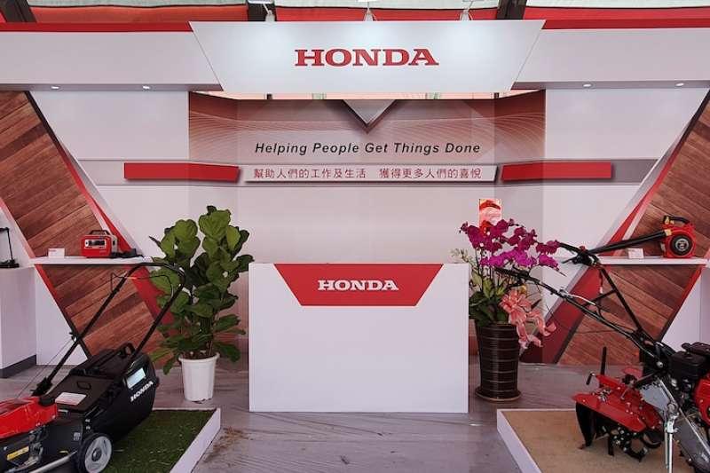 農機展Honda Booth特別以「Helping People Get Things Done」為參展主軸,讓民眾體現以高效能引擎動力為基礎、結合生活實用便利性而生的「The Power of Dreams」的獨特品牌價值。(圖/業者提供)