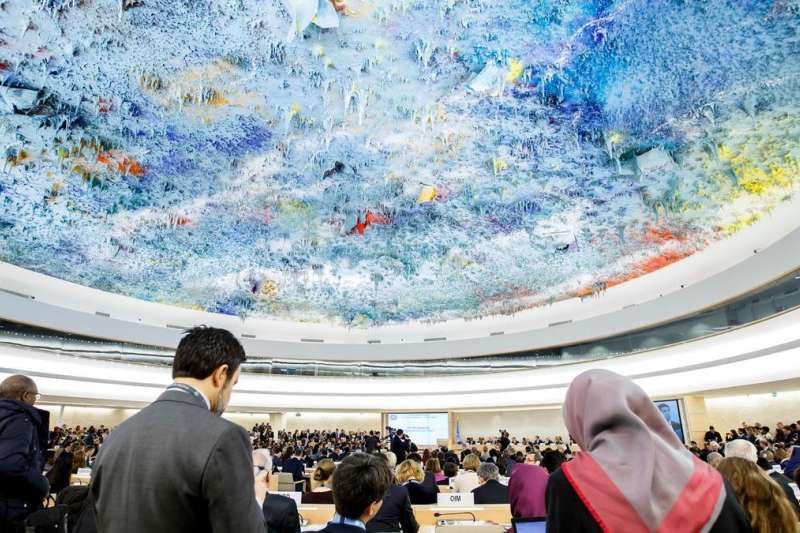 聯合國人權理事會(資料照,AP)