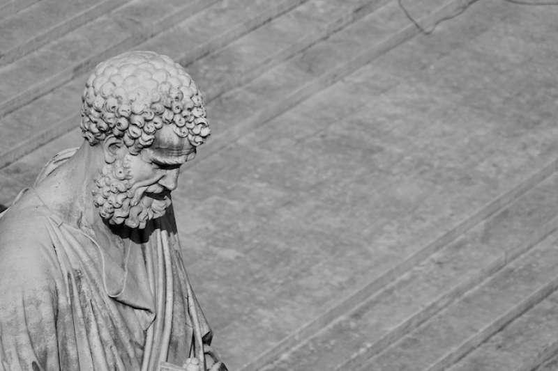 羅馬教會的第一位主教,聖伯多祿(曾廣儀攝)