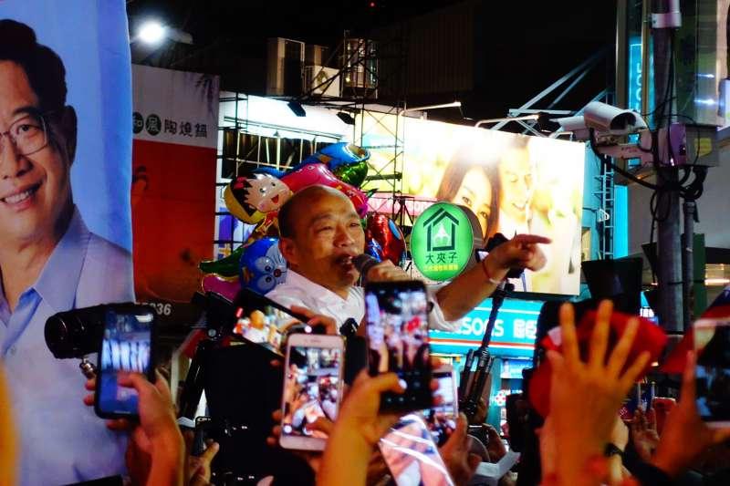 嘉義造勢人潮水洩不通 韓國瑜:大家是在找尋未來台灣美好的希望-風傳媒