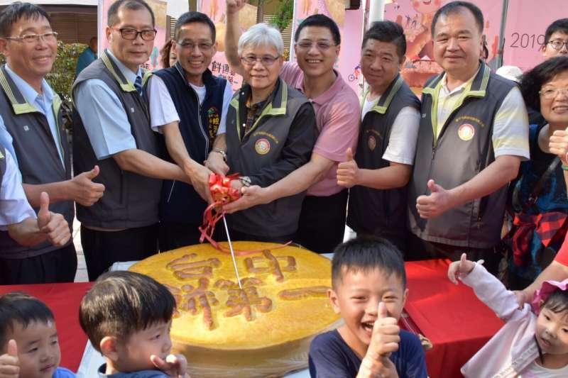 台中市推廣糕餅文化,2019台中太陽餅文化節19日在文心森林公園登場,推出多項優惠。(圖/台中市政府提供)