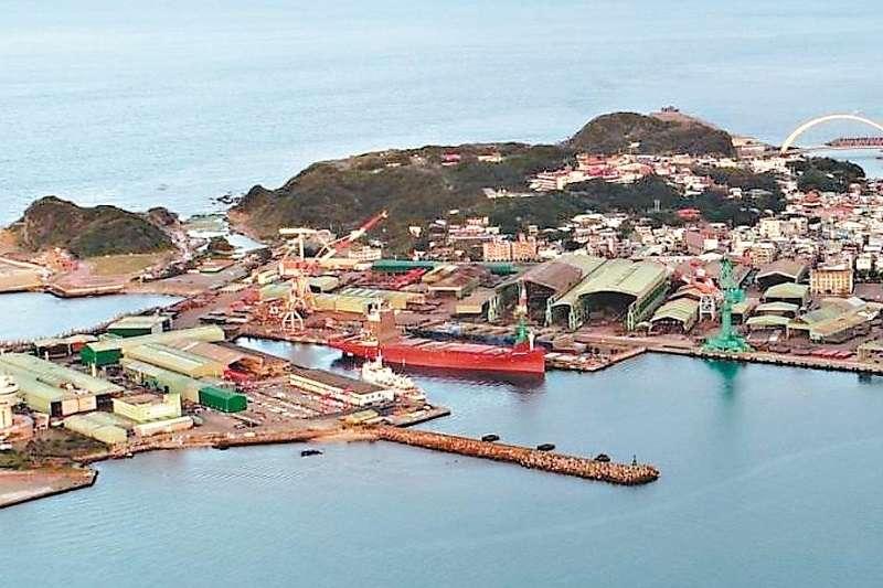 台船認為和平島基隆廠是設潛艦產業園區最佳地點。(基隆市政府提供)