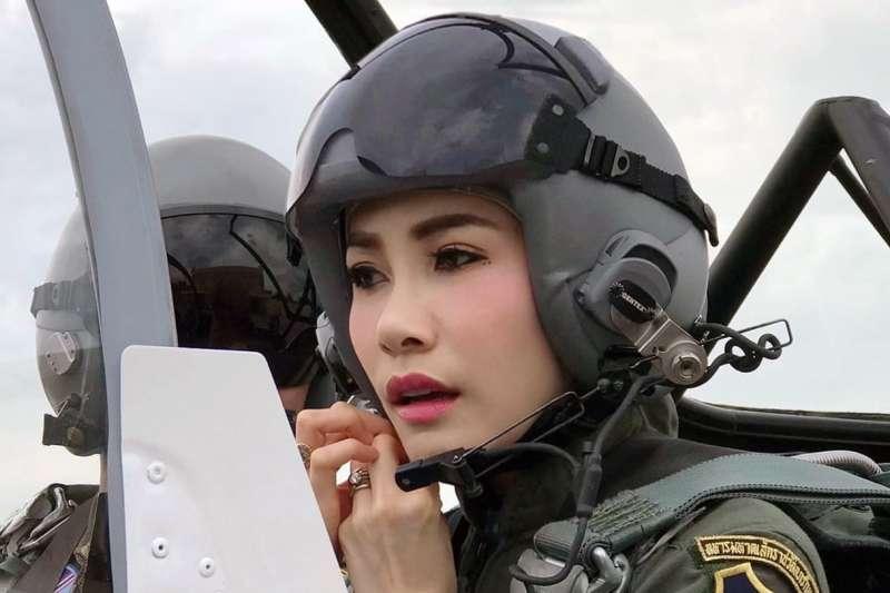 泰國王室2日發布政府公報,恢復詩妮娜所有的王室頭銜和軍銜。(美聯社)