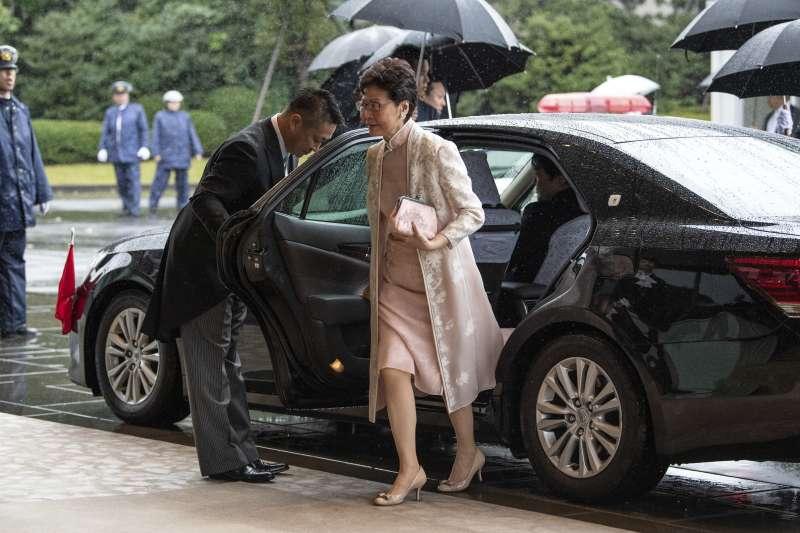 日本德仁天皇即位儀式:香港特首林鄭月娥出席觀禮(AP)