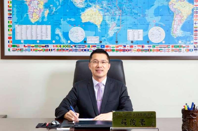20191022-雲林縣副議長蘇俊豪22日宣布退出民進黨。(資料照,取自臉書蘇俊豪)