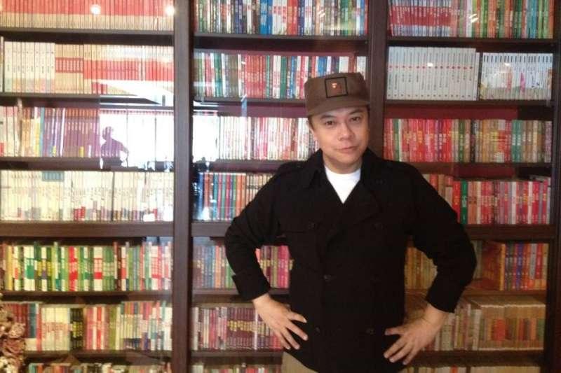 蔡康永新書銷量稱霸中港台。(圖/取自蔡康永臉書)