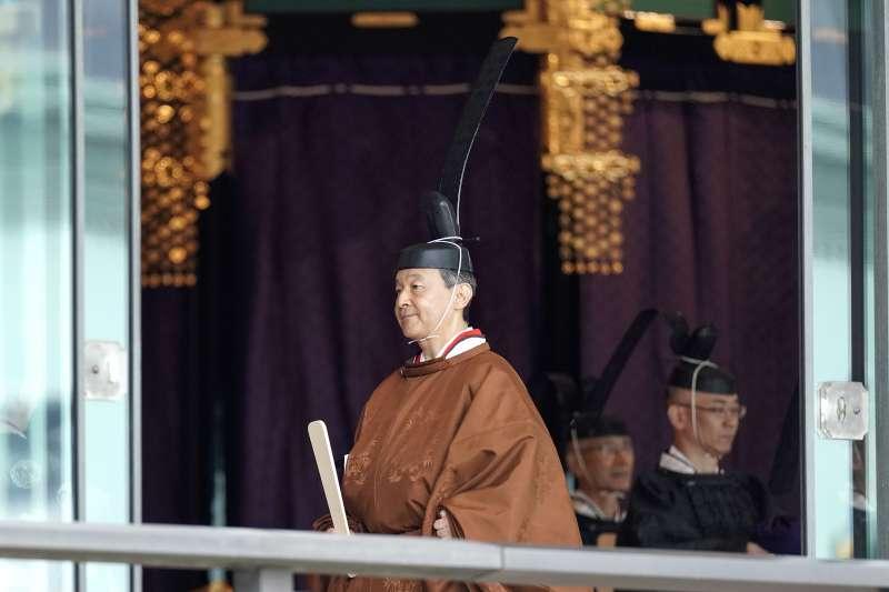 日本德仁天皇「即位禮正殿之儀」(AP)