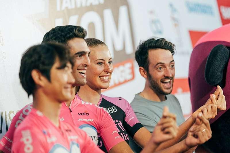 2019臺灣自行車登山王挑戰將於10月25日開賽,本屆賽事世界傳奇女車手沃斯也來台競速。(中華自行車協會提供)