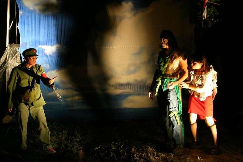 2002, 差事劇團 〈霧中迷宮〉(圖片提供/鍾喬)