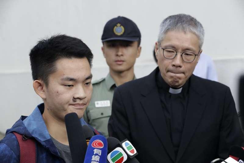 港女命案兇嫌陳同佳接受訪問表示:對不起社會,願意赴台「自首」。(資料照,美聯社 AP)