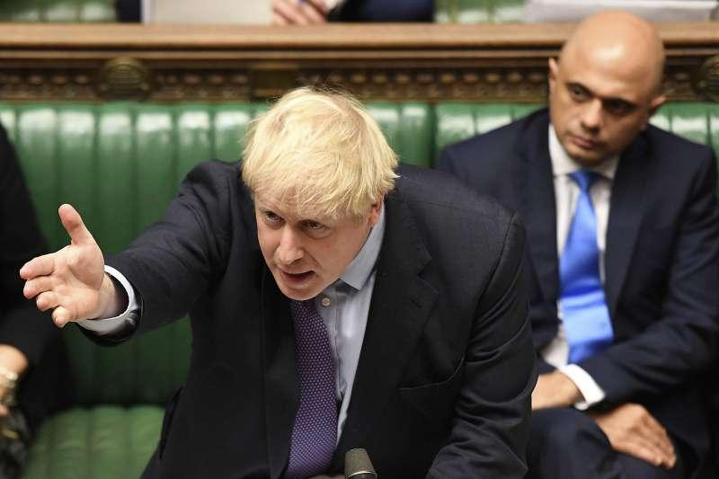 英國下議院雖然同意強森新版《退出協議》的原則,卻拒絕在3天內通過立法,強森揚言將舉行大選。(AP)